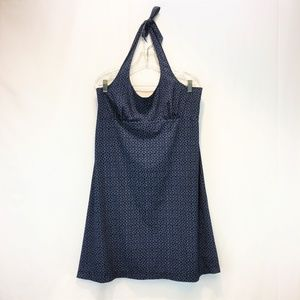 COLUMBIA PFG XL/TG Halter Top Sport Dress Navy